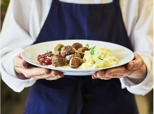 IKEA Chicken Meatball Dish