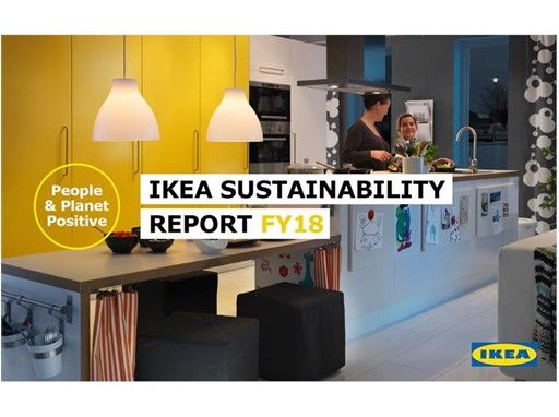 IKEA Sustainability Report FY18 cover