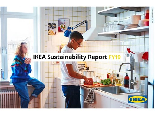 Image of IKEA Sustainability Report FY19