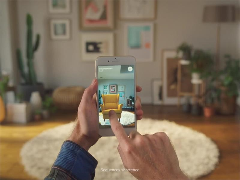 Inter IKEA Group | Newsroom : IKEA PLACE demo AR app