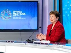 IMF / IMFC Press Briefing Spring Meetings 2021