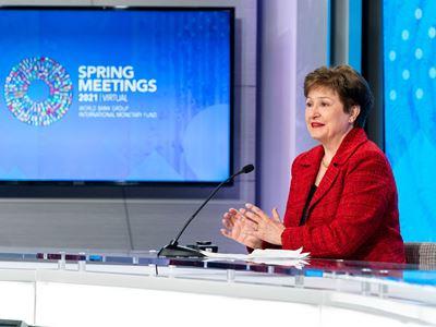 IMF / IMFC Press Briefing Spring Meetings 2021