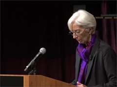 IMF Economy Speech Harvard