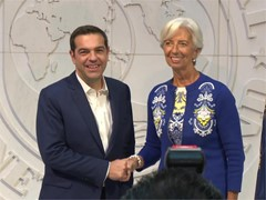 IMF-Greece Meeting