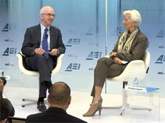 IMF Lagarde / Trade / Global Economy / Venezuela