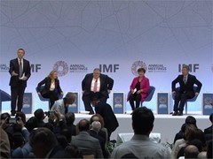 IMF: GLOBAL ECONOMY DEBATE