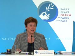 IMF / Kristalina Georgieva Remarks at Paris Peace Forum