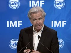 IMF Press Briefing Argentina/ Sudan