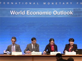 IMF Sees Accelerating Growth