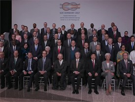 G20 Finance Ministers Family Photo