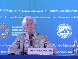 IMF Governors Discuss Cooperation, Trade and Sustainable Growth