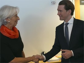 IMF AUSTRIA LAGARDE KURZ