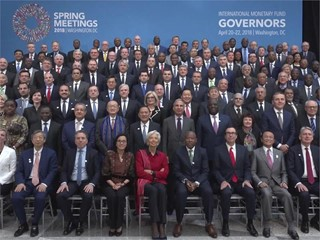 IMF Governors Discuss Cooperation and Sustainable Growth