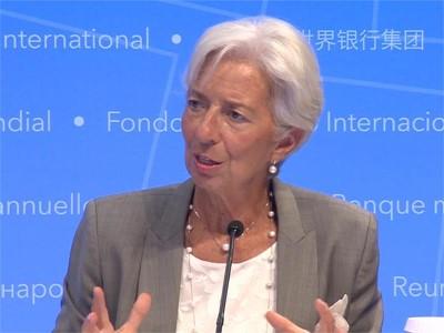 IMF Lagarde Presser