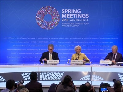 IMF's Lagarde: Trade and Investment Are Engines of Growth