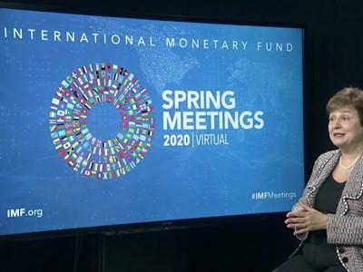 IMF Spring Meeting's Curtain Raiser Speech with MD Georgieva