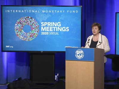 IMF Spring Meetings Georgieva Press Conference