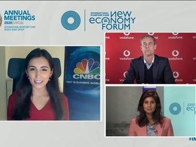 IMF / New Economy Forum: The Great Lockdown and Jobs: Who is Shut Out?