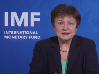 Kristalina Georgieva on IMF's 2021 Outlook and Priorities