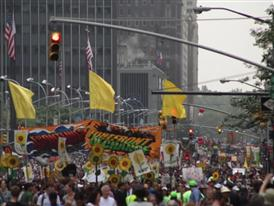 Climate March, New York - September 21, 2014