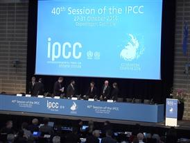 Soundbites: Opening Ceremony IPCC Sythesis Report (AR5)27th October 2014