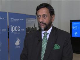 Dr. Pachauri, Chair of the IPCC
