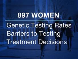 Graphics: Genetic Testing Among Women with Breast Cancer Increasing, Can Impact Treatment Decisions