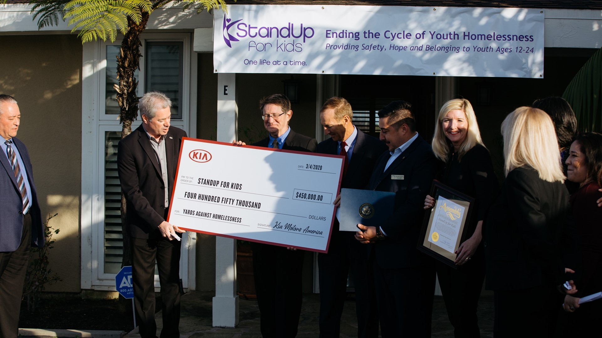"Kia Motors donates $1 million to ""YARDS AGAINST HOMELESSNESS"" charity partners - Image 1"