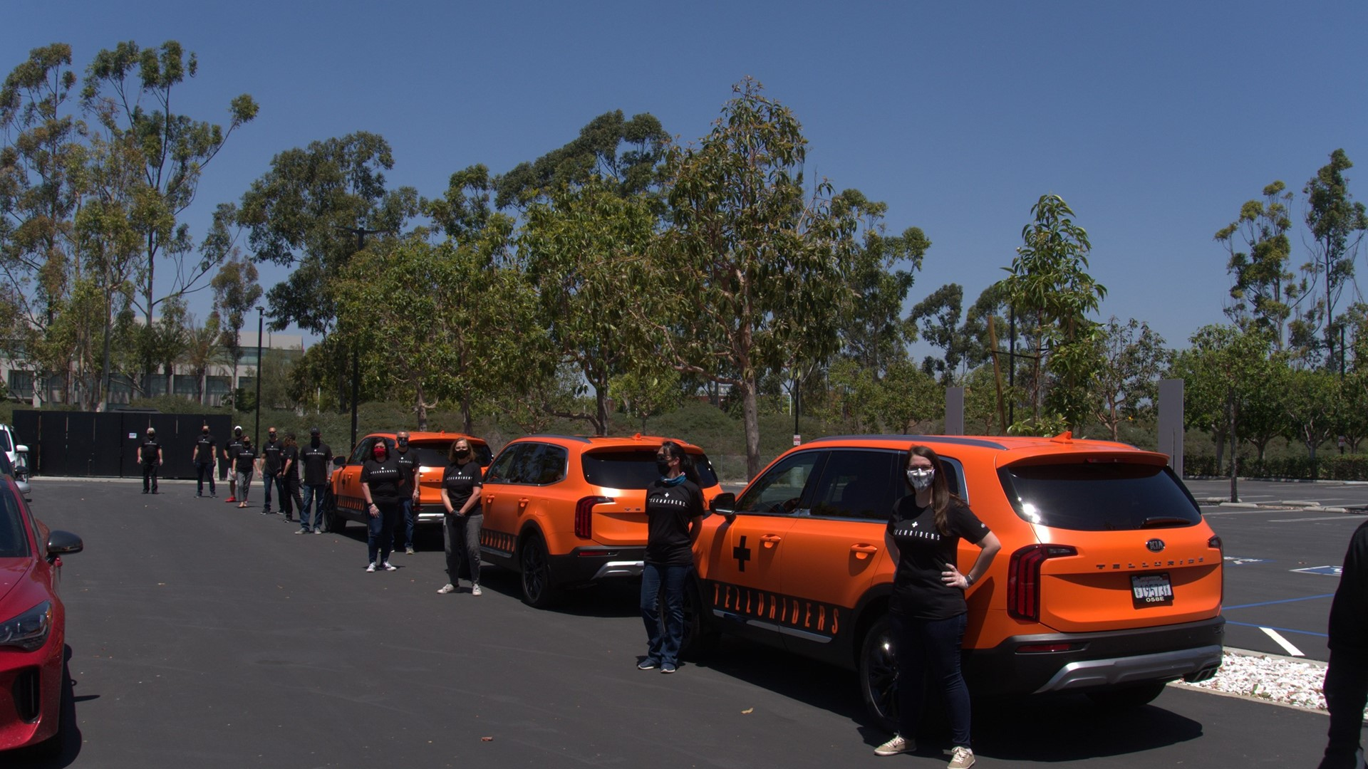 Kia Motors America begins deliveries of face shields to hospitals throughout southern California - Image 1
