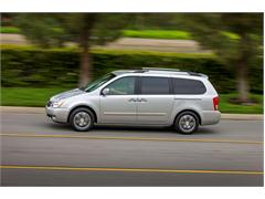 2014 Kia Sedona Earns NHTSA 5-Star Safety Rating