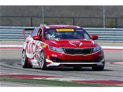 Kia Racing Prepares For 2015 Pirelli World Challenge Season Finale At Mazda Raceway Laguna Seca