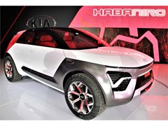 KIA HABANIRO CONCEPT HEATS UP MANHATTAN
