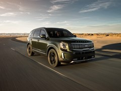 Kia Telluride Wins 2020 MAMA Family Vehicle of the Year