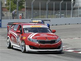 Kia Racing scores victory in Toronto in round 10 of Pirelli World Challenge
