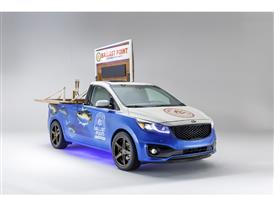 Kia - Races theme for the 2014 SEMA Show SXL