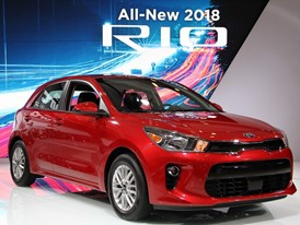 All-New 2018 Kia Rio Sedan And 5-Door Make U.S. Debut At New York International Auto Show