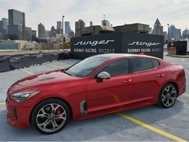 Kia Stinger Red - NYC