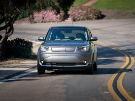 Wireless Charging System developed on Kia Soul EV