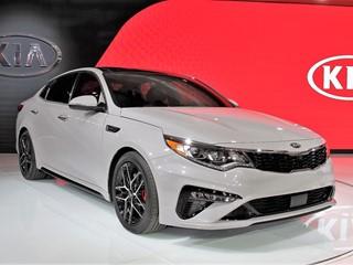Refreshed 2019 Kia Optima Debuts at New York International Auto Show