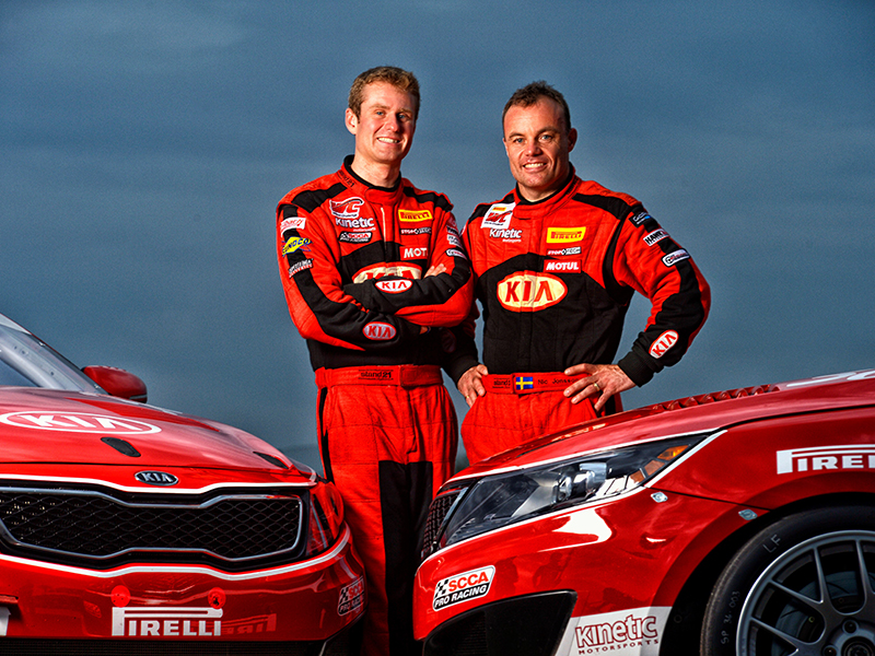 Kia Racing Announces 2014 Pirelli World Challenge Driver Line-Up