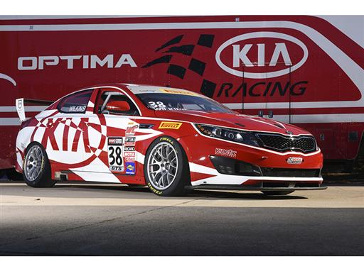 Kia Racing announces driver lineup for 2015 Pirelli World Challenge season