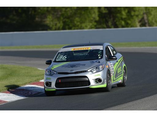 Kia Forte Koup Privateer Program Scores Back-to-back Victories At Mid-ohio Sports Car Course