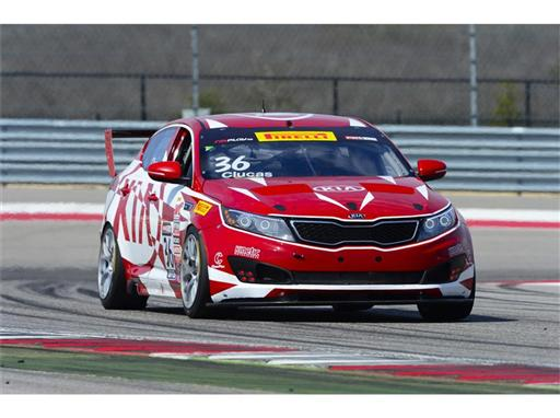 Kia Racing prepares for 2015 Pirelli World Challenge season finale
