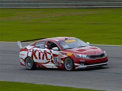 Kia Racing and Hometown Star Mark Wilkins Return to Canadian Tire Motorsports Park for Pirelli World