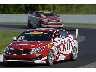 Defending Champion Kia Racing Aims To Repeat Success At Road America During Rounds Nine And 10 Of Th