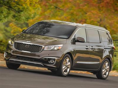 2017 Kia Sedona Earns 2016 Top Safety Pick+ From the Insurance Institute for Highway Safety