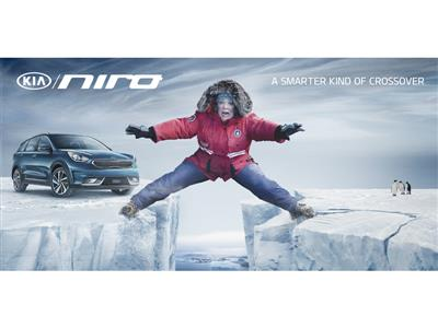 "Melissa Mccarthy and the All-new Kia Niro Embark on a ""Hero's Journey"" in Kia Motors' Super Bowl Com"