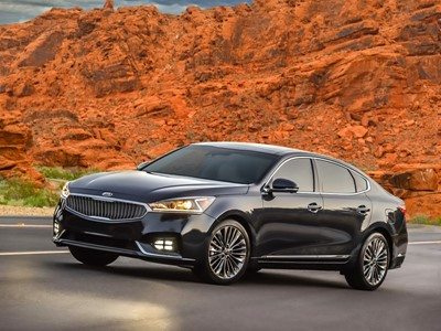 2017 Kia Cadenza Achieves Top Safety Pick Plus Rating From the Insurance Institute for Highway Safet