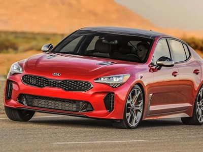 Kia Stinger Release Date Usa >> Kia Stinger Named Finalist For 2018 North American Car Of