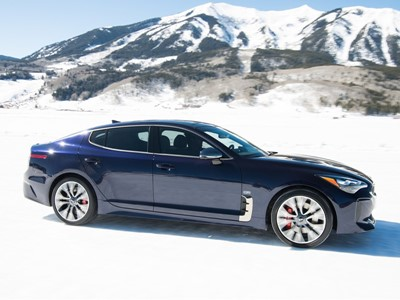 "Limited Production 2019 Stinger GT ""Atlantica"" Brings Unique Features to Kia's Fastback Sport Sedan"